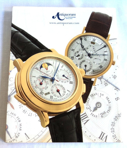 catalogo de relojes antiquorum junio 2006 subastas precio