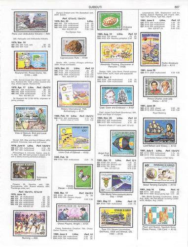 catálogo de selos mundiais scott stamp 2013 em 2 dvds