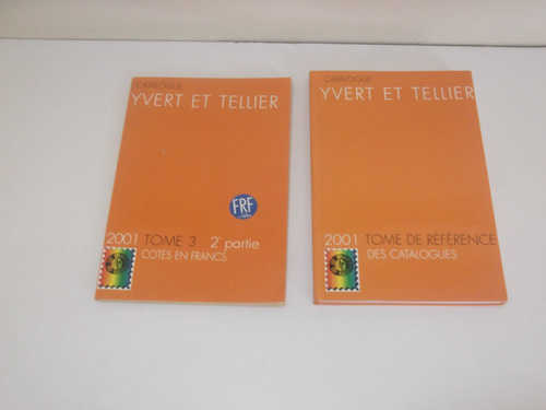 catalogo de selos yvert et tellier