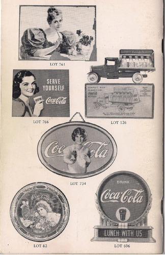 catalogo de subasta americano usa1990 coca cola nostalgia