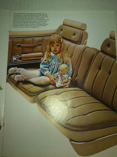 catalogo de venta ford torino 1975 original nuevo raro