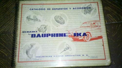 catalogo despiece dauphine