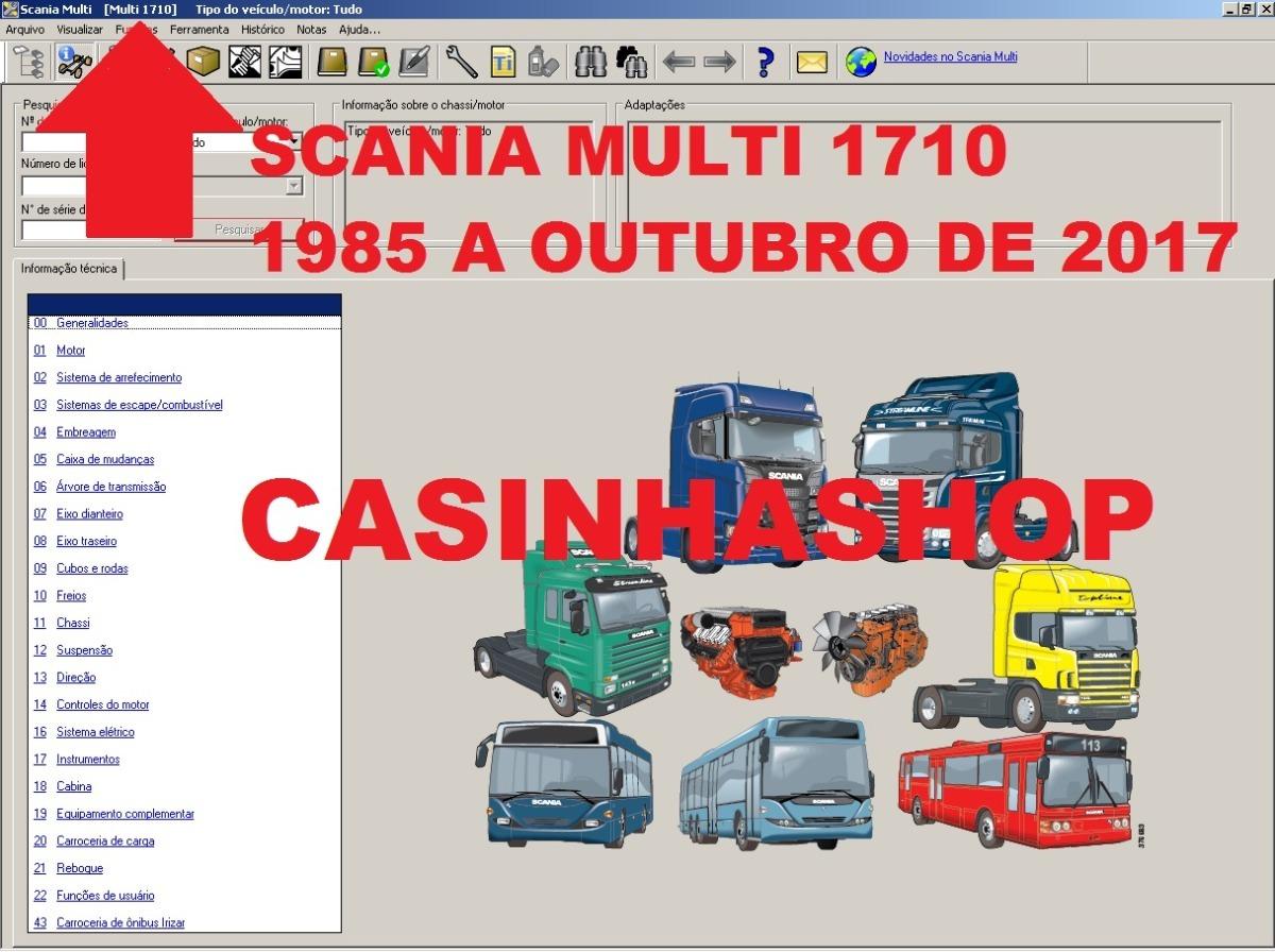 903ca1d3a7b Catálogo Eletrônico De Peças E Serviços Scania Multi 2019 - R  250 ...