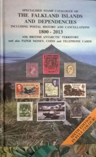 catálogo especializado monedas y estampillas malvinas