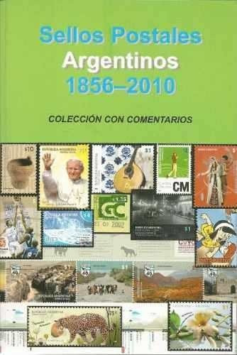 catalogo estampillas argentinas 1856-2010 c/act. hasta 10/14