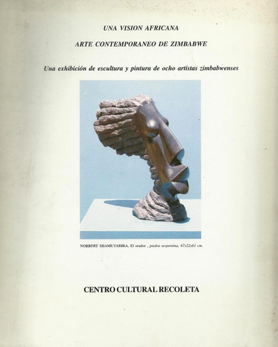 catalogo exposicion   arte contemporaneo de zimbabwe  1999