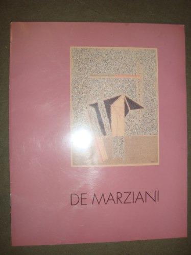 catálogo. hugo de marziani. galería palatina.