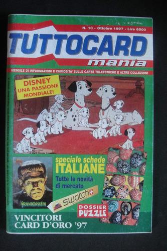 catalogo italiano pra cartão telefonico kinder swatch disney