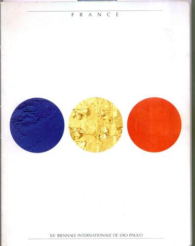 catalogo ives klein y otros bienal san pablo 1989 olivos