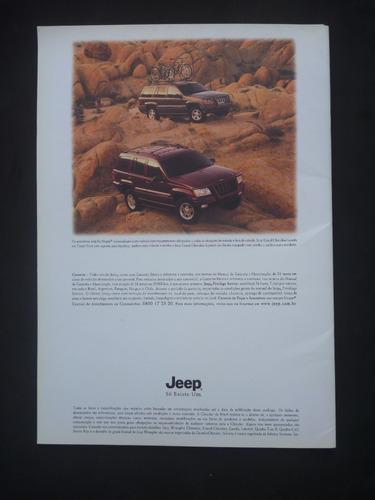 catálogo jeep grand cherokee 2001