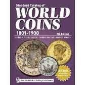 catalogo krauses standard of world coin 1801-1900 7th edit.