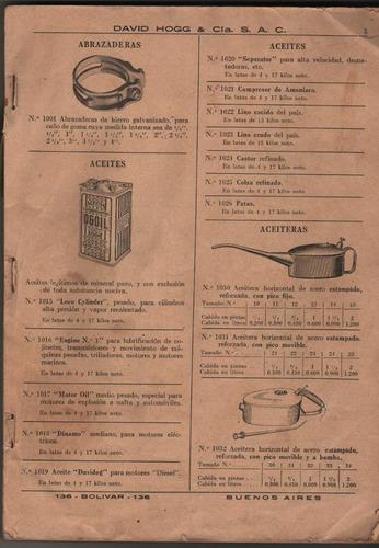 catalogo lista de precio - maquinas a vapor - herramientas