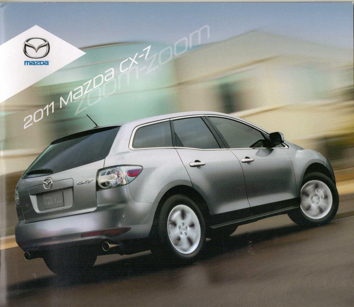 catálogo mazda cx 7 modelos 2011 em inglês r 79 95 em