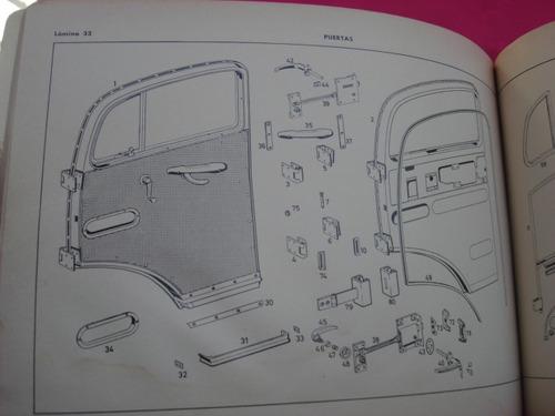 catalogo  mercedes benz tipo l / ls / lo 1112 edicion a 1965