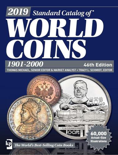 catalogo numismatico world coins monedas 2019