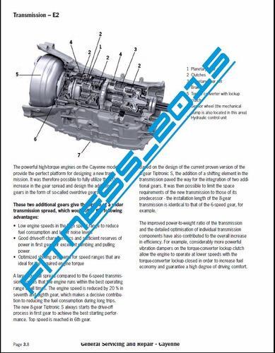 catalogo partes manual servicio taller porsche cayenne 02-10