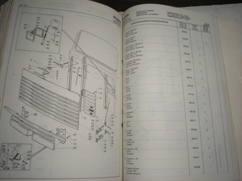 catalogo peças caminhão scania lk 111 original ds manual