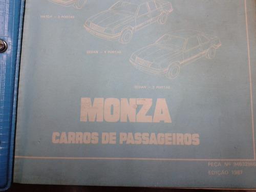 catalogo peças monza