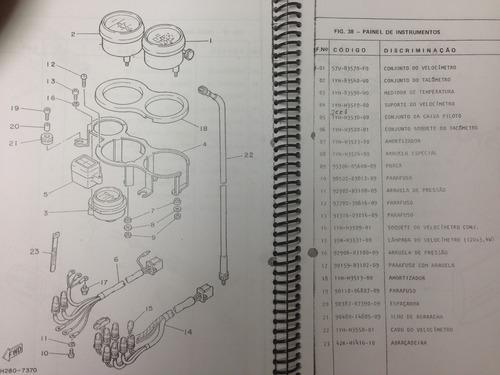 catálogo peças rd 350