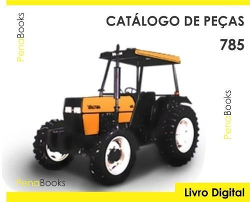 catálogo peças trator valtra valmet 785 c