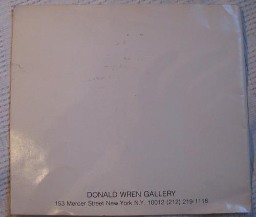 catálogo pérez celis new york, donald wren gallery 1987