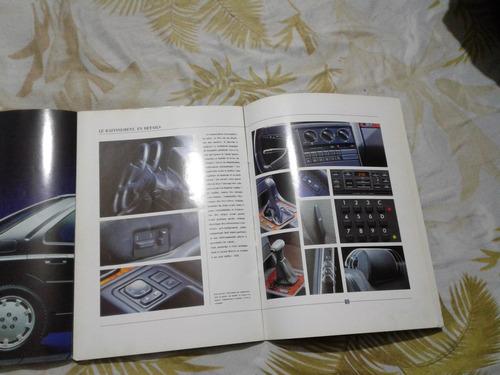 catálogo peugeot 605 y citroën ax