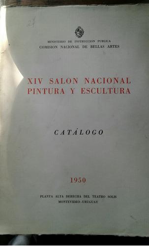 catálogo salon nacional pintura escultura 1950