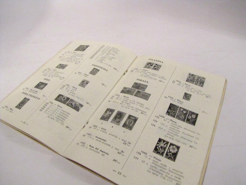 catalogo sellos de flores