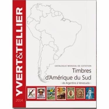 catalogo yvert sellos de america del sur hasta 2014