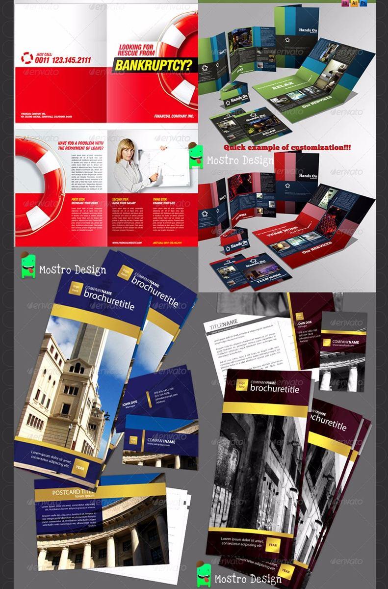 Catálogos, Folletos, Trípticos, Menú Plantillas Editables!! - $ 33 ...