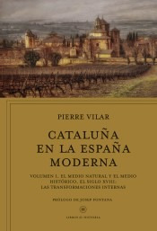cataluña en la españa moderna, vol. 1(libro historia)