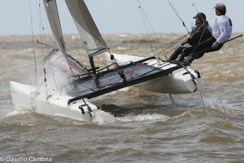 catamaran f18 nacra mki - orzas largas mkii