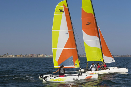 catamaran hobie wave