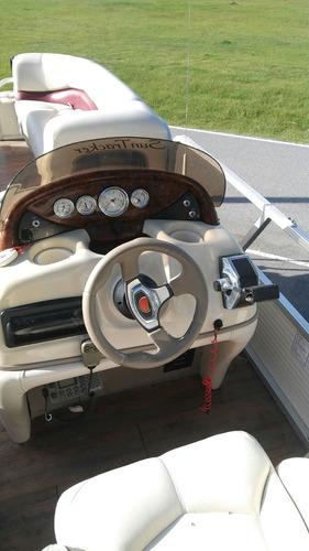catamaran sun tracker ponton lancha crucero mercury trailer