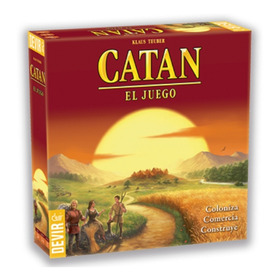 Catan - Juego De Mesa En Español - Devir