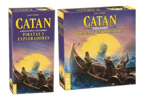 catan expansión piratas y exploradores juegos de mesa 5 y 6