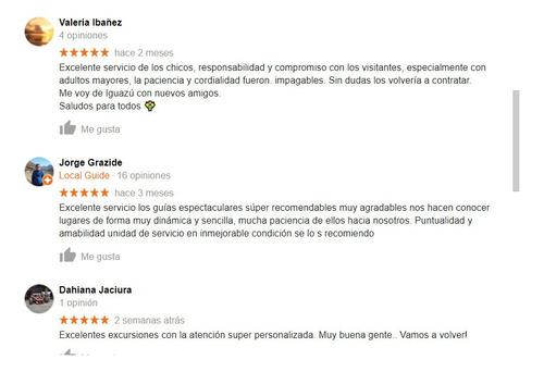 cataratas del iguazú excursión completa con guía profesional