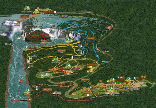 cataratas del iguazú excursión completa con guía y ga