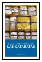 cataratas / eliot weinberger (envíos)