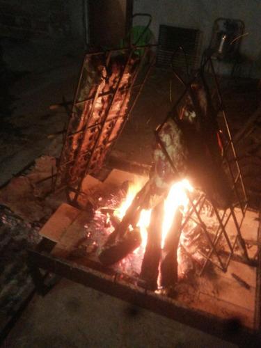 catering asadores a domicilio a la estaca perniles y disco