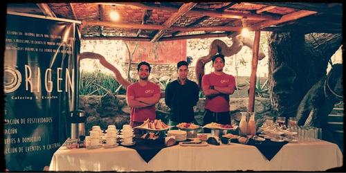 catering, banquetes y eventos