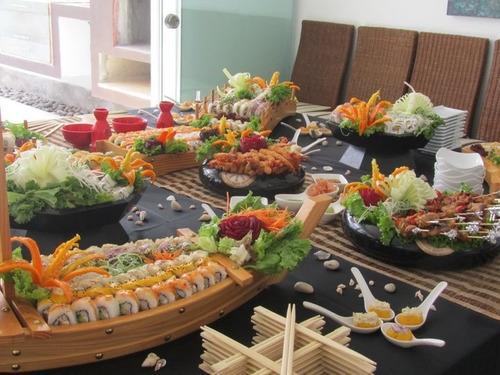 catering de sushi