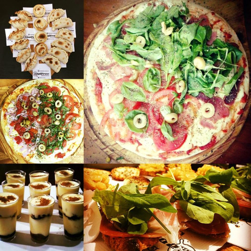 catering evento fiesta pizza party