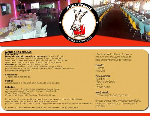 catering eventos servicio