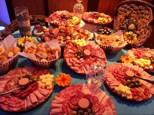 catering, fiestas, servicio integral promo/100 $ 69.000
