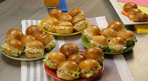 catering, lunch, 10/12 personas, mesa salada, cumpleaños