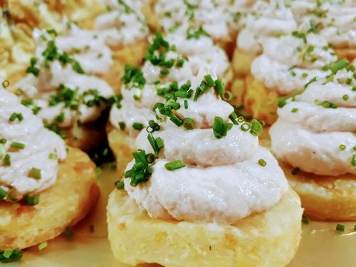 catering lunch gourmet promo 20% off - degustación gratis!