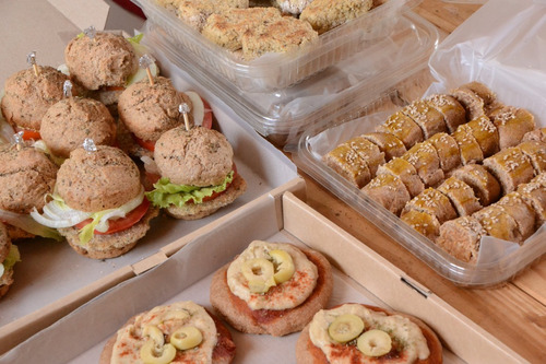 catering, lunch, para