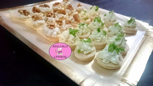catering lunch promo 10 pers. + mesadulce tortas/shots mpago