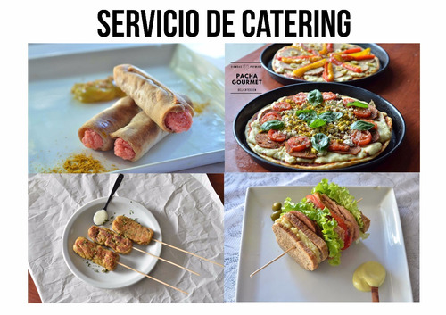 catering / lunch vegano para 12 personas